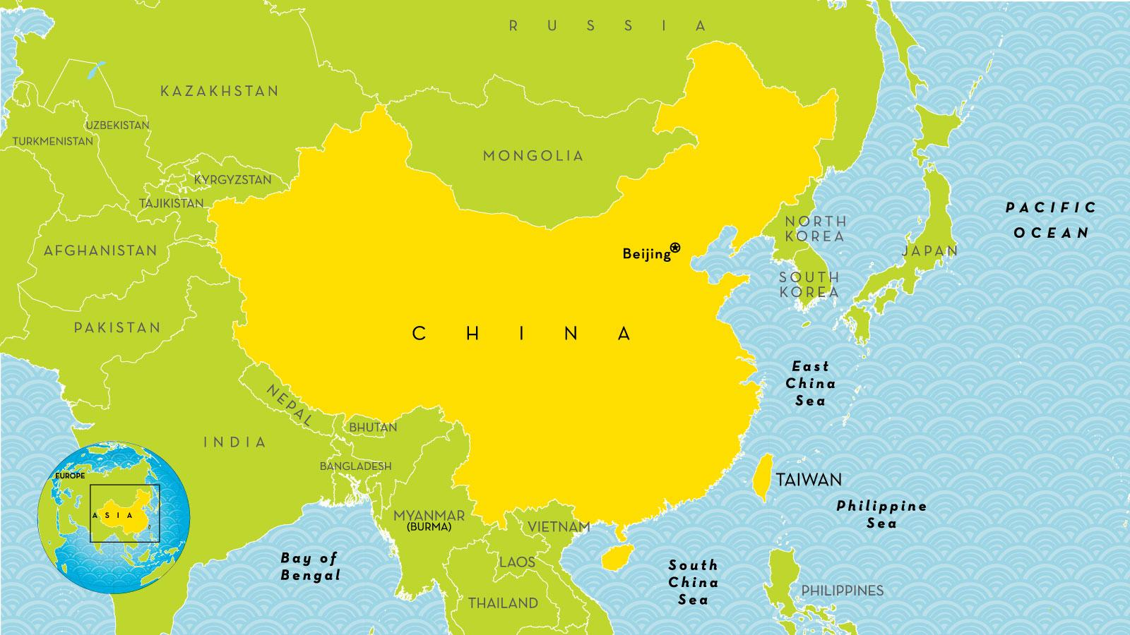 Picture of: China Country Map China Map Country Eastern Asia Asia