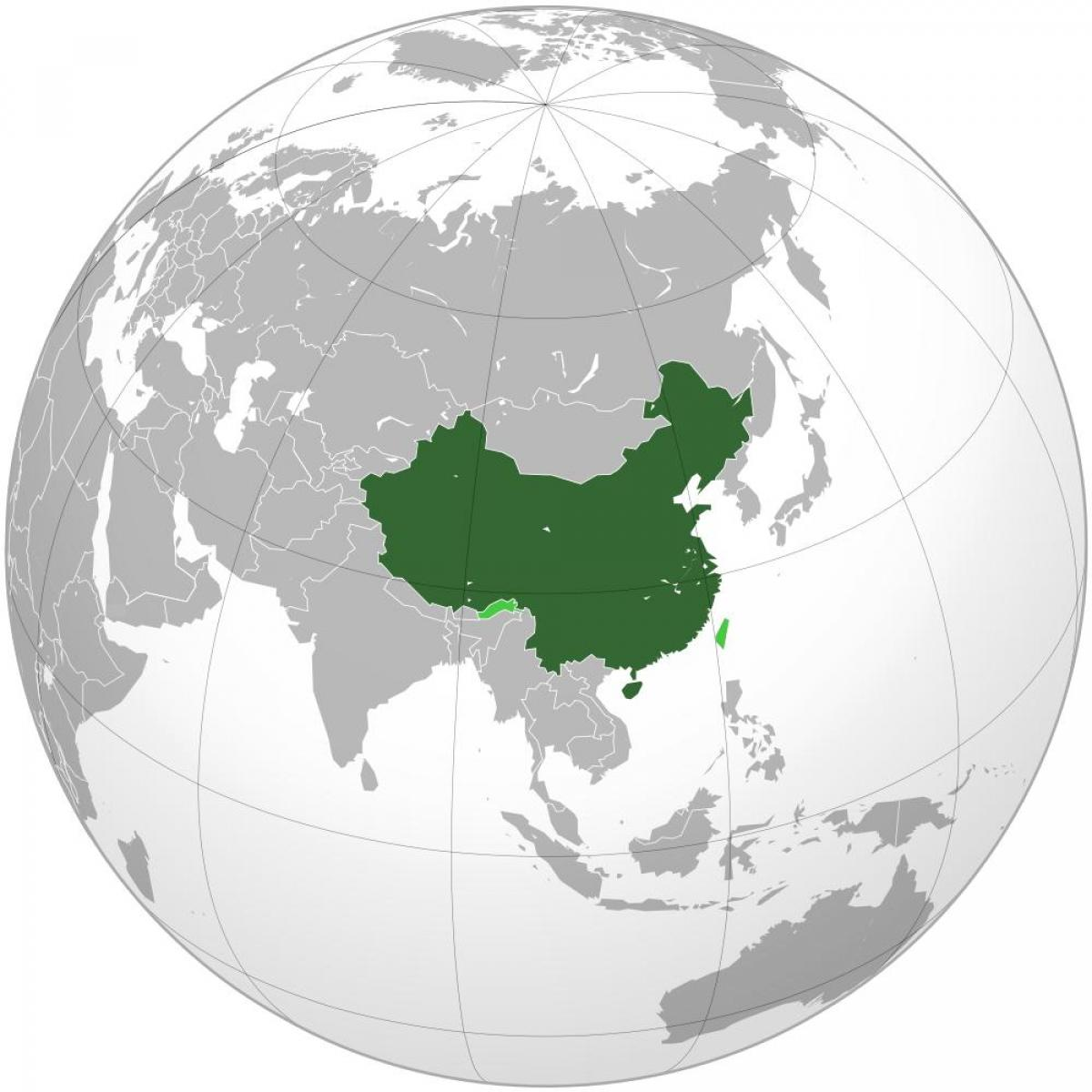 China map world