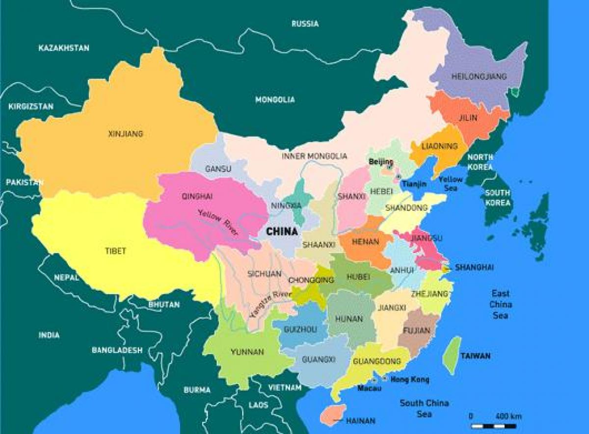 Map Of China And Asia.Map Of China Provinces China Map With Provinces Eastern Asia Asia