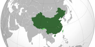 China map maps china eastern asia asia china map world gumiabroncs Choice Image